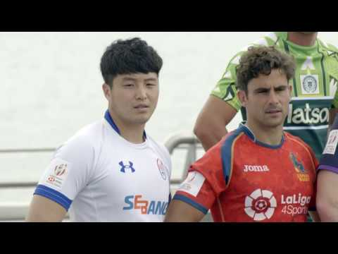 Korea line up against sevens elite