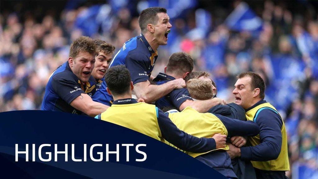 Leinster v Saracens (QF1) – Highlights – 01.04.2018