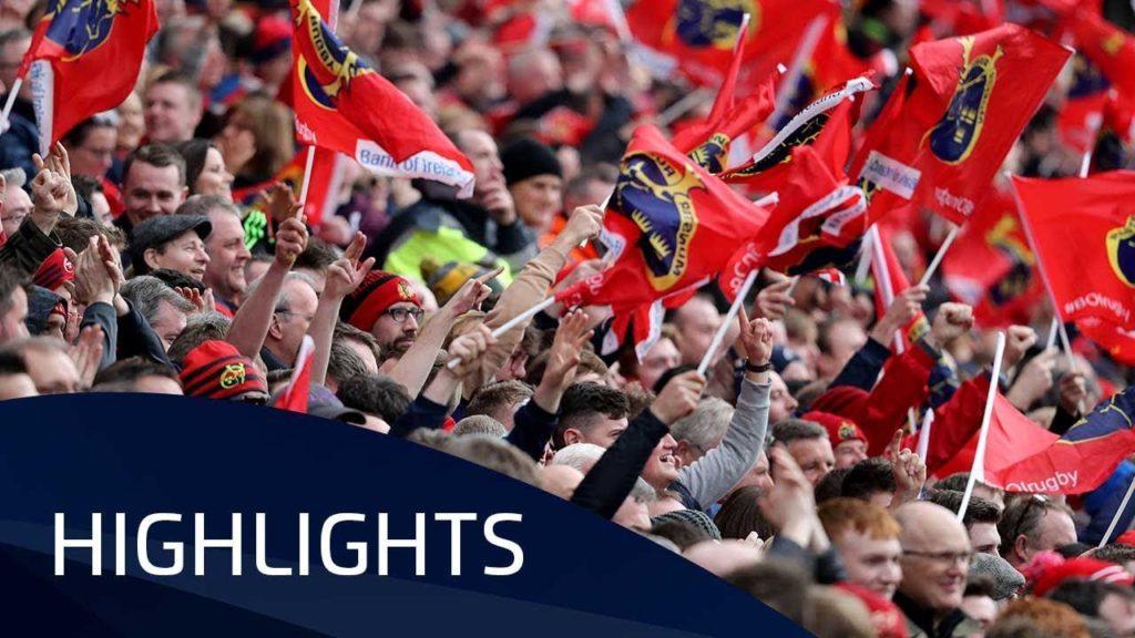 Munster Rugby v RC Toulon (QF3) – Highlights – 31.03.2018