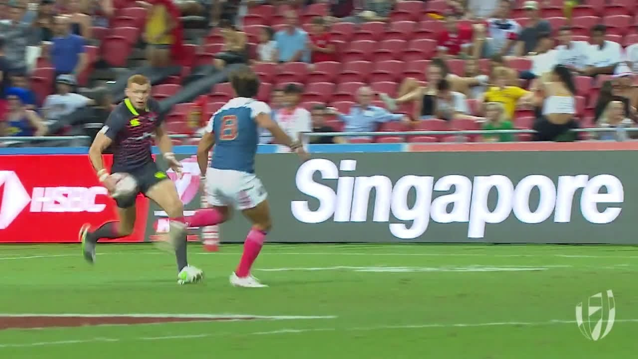 Relive: James Rowdell with the silky skills