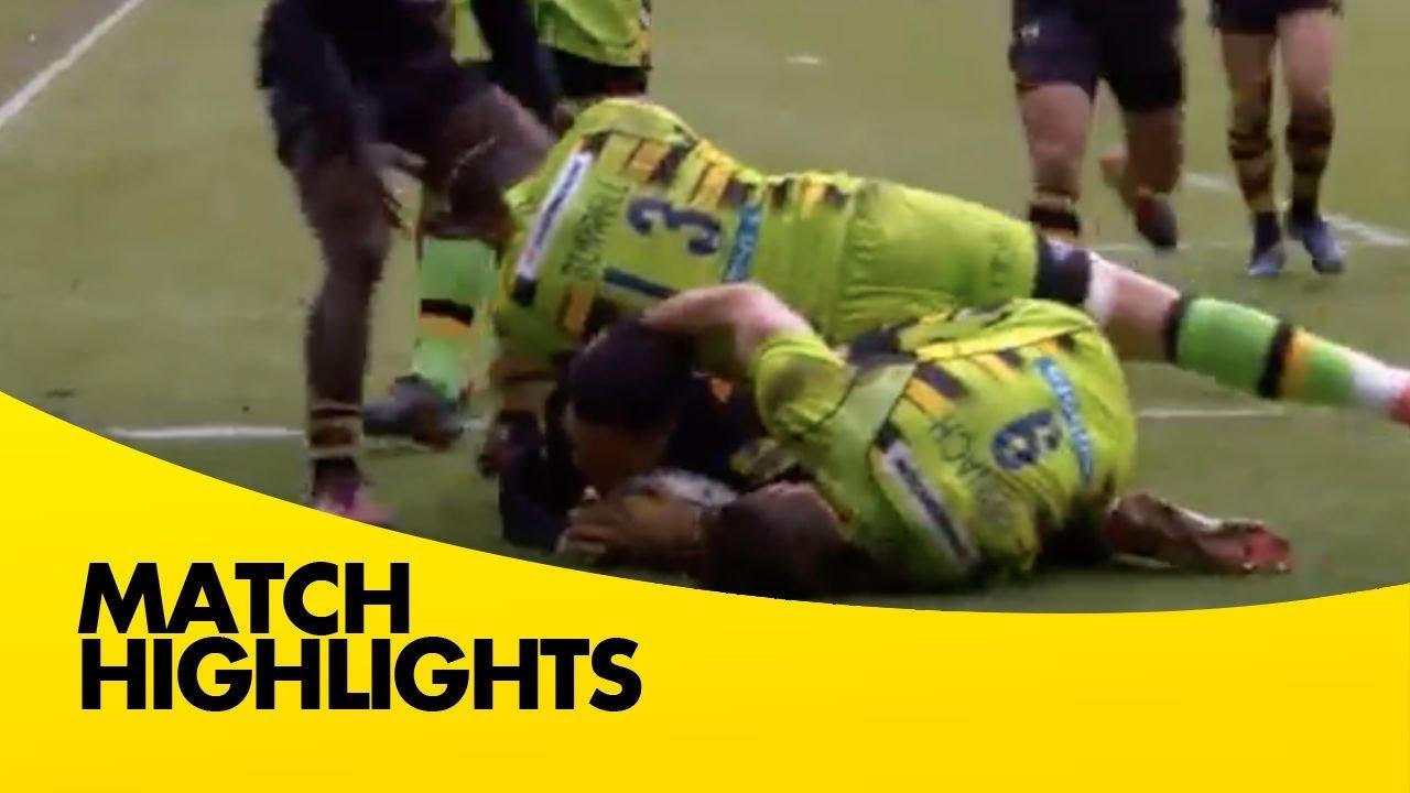 Wasps v Northampton Saints - Aviva Premiership Rugby 2017-18