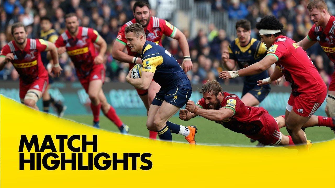 Worcester Warriors v Harlequins - Aviva Premiership Rugby 2017-18