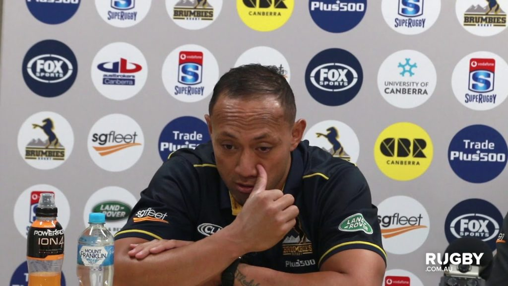 2018 Super Rugby Round 13: Brumbies press conference