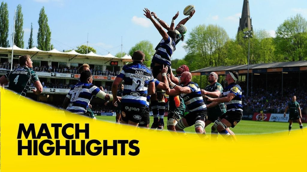 Bath Rugby v London Irish – Aviva Premiership Rugby 2017-18