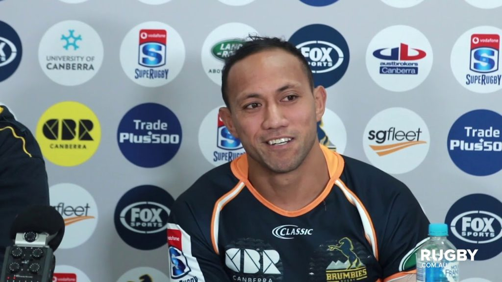 2018 Super Rugby Round 16: Brumbies press conference