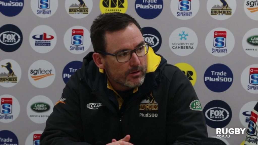 2018 Super Rugby Round 17: Brumbies press conference