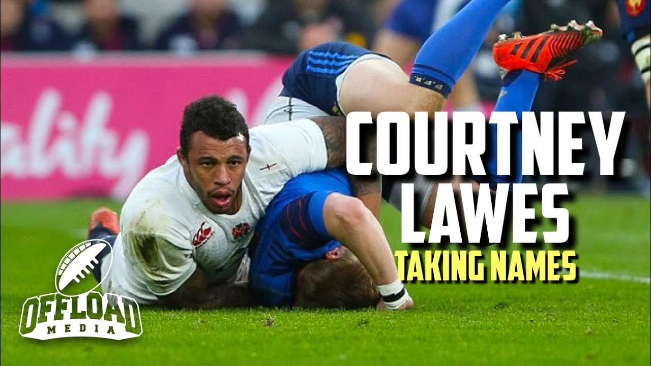 Courtney Lawes   Taking Names