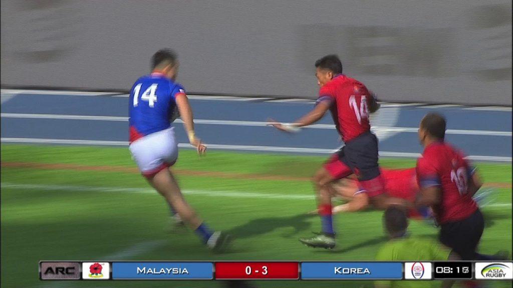Hong Kong V Korea Game Asia Rugby Championship #ARC2018 Finale