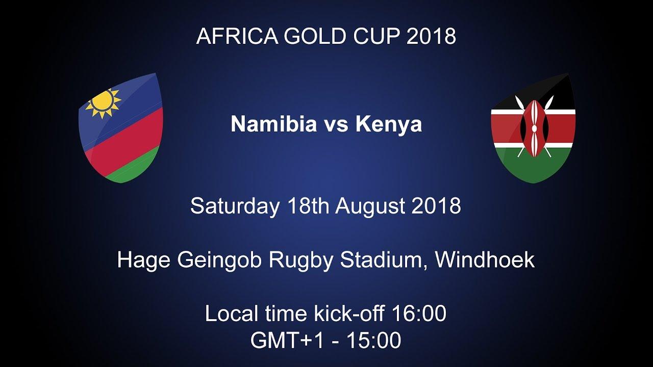 2018 Rugby Africa Gold Cup - Namibia v Kenya