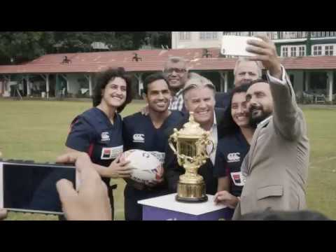 Sidharth Malhotra and Rahul Bose add Bollywood stardust  to Rugby World Cup Trophy tour