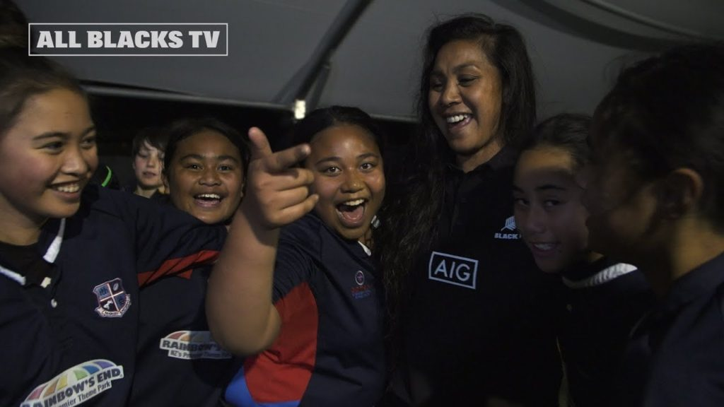 All Blacks and Black Ferns inspiring the next generation