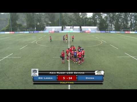 Asia Rugby U20 Sevens 2018 Sri Lanka V China