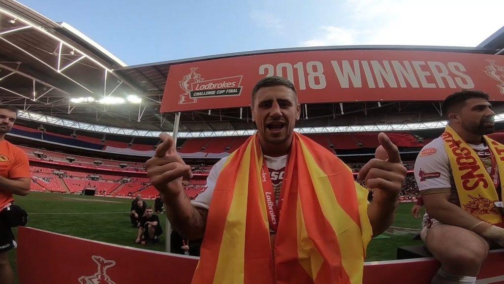 ? YahaCam: Ladbrokes Challenge Cup Final
