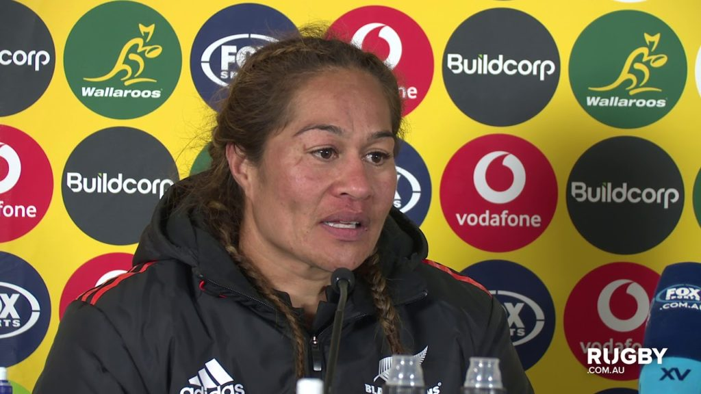 Laurie O'Reilly Memorial Trophy: Black Ferns press conference, Sydney