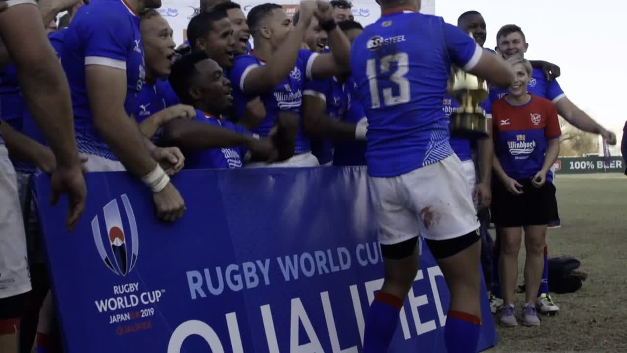 Namibia qualify for Rugby World Cup 2019!