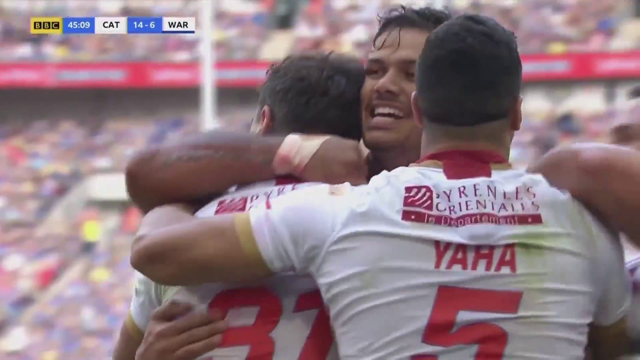 2018 Ladbrokes Challenge Cup Final Highlights - Catalans Dragons v Warrington Wolves, 25.08.18