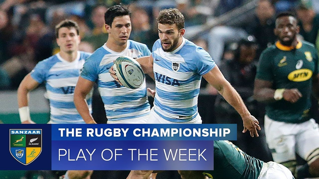 PLAY OF THE WEEK: 2018 Rugby Championship Week 1