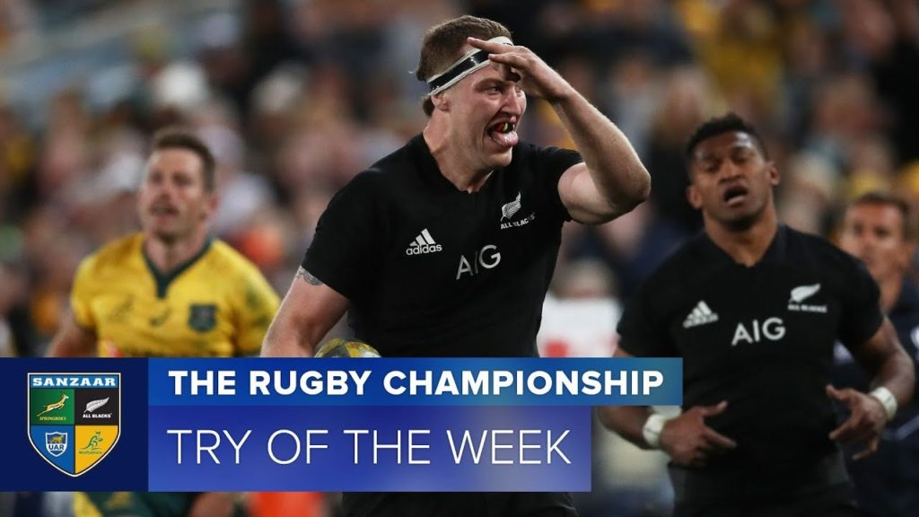 TRY OF THE WEEK: 2018 Rugby Championship Week 1