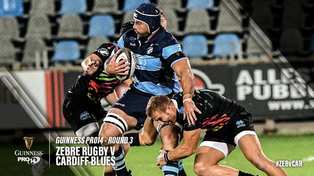 Guinness PRO14 Round 3 Highlights: Zebre Rugby v Cardiff Blues