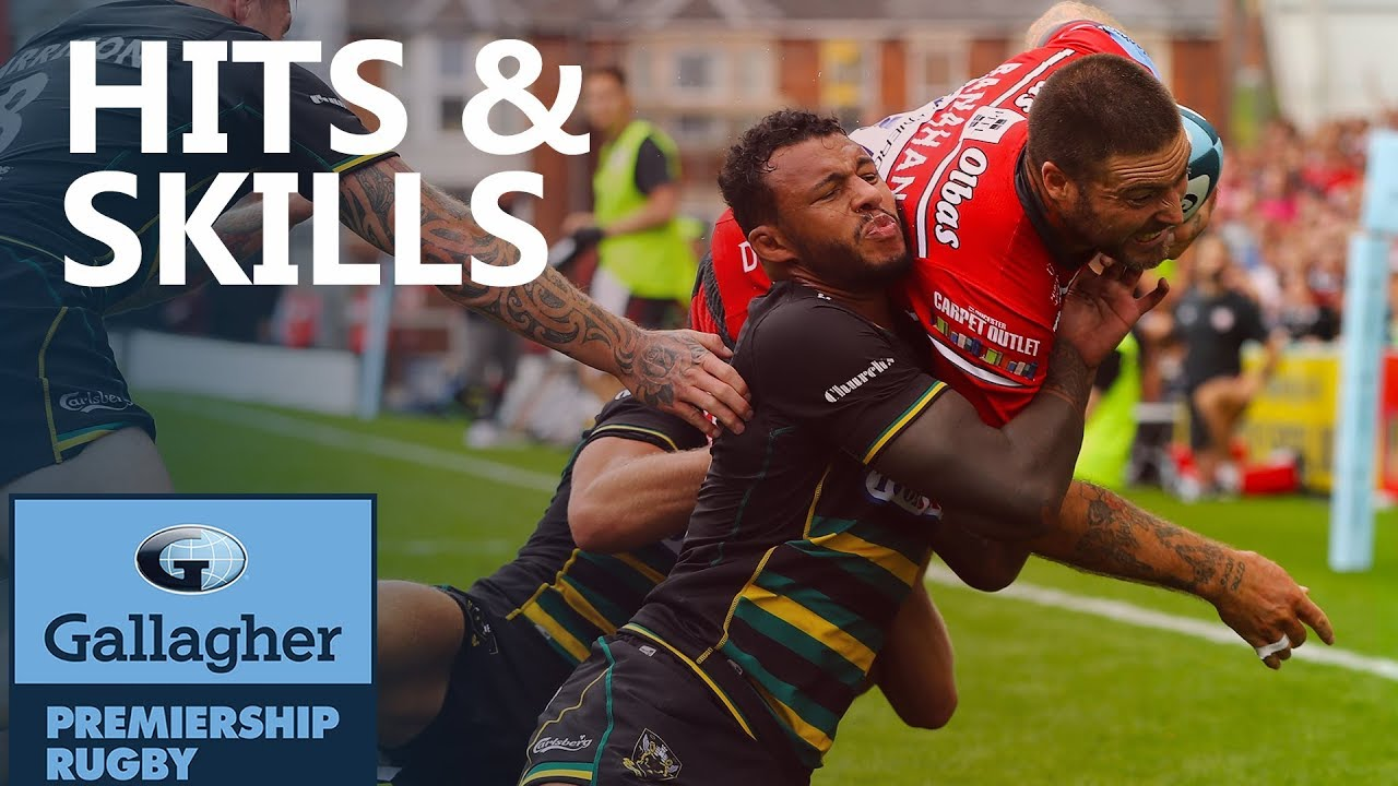 Hits & Skills - Round 1 | Gallagher Premiership 2018/19