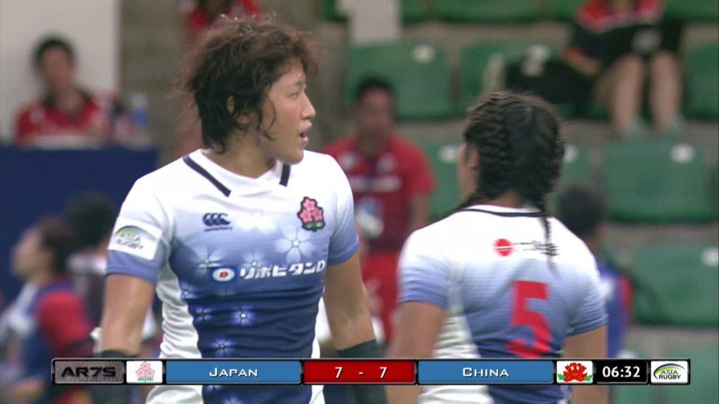 Japan v China Womens Final #ARW7s  2018 Hong Kong