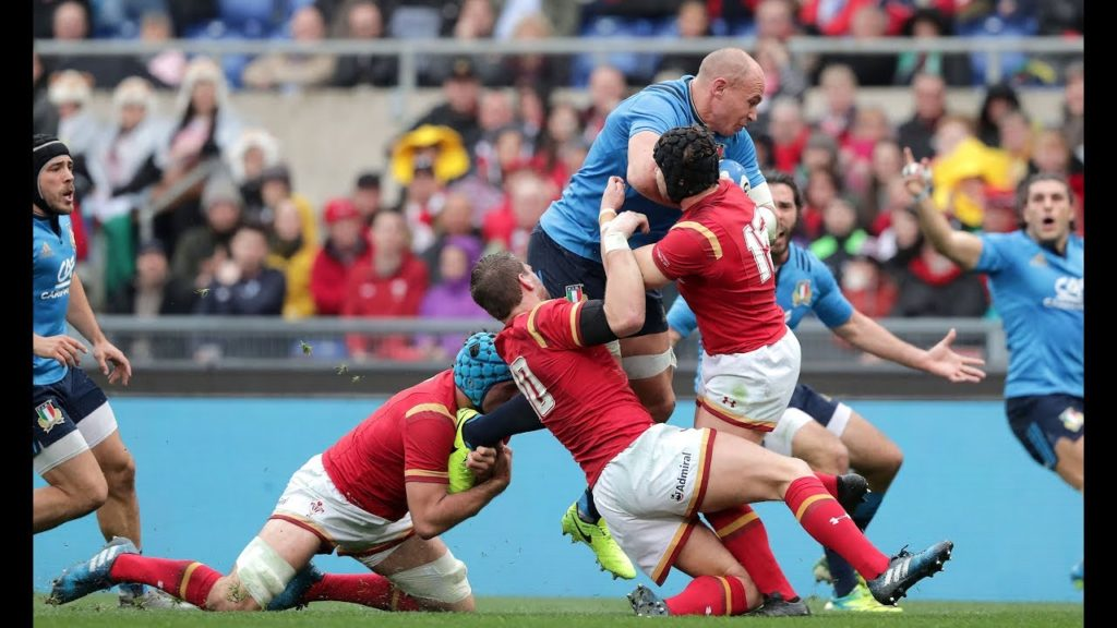 Sergio Parisse best Championship moments!  | Six Nations