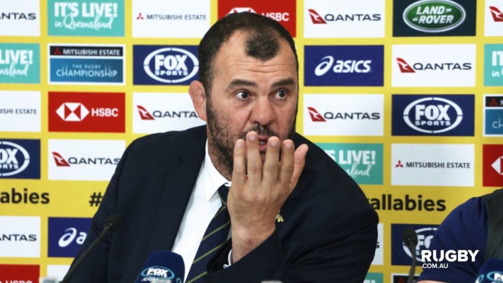 TRC: Wallabies press conference, Gold Coast