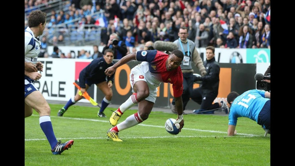 Virimi Vakatawa scores in the corner on debut back in 2016! | Six Nations