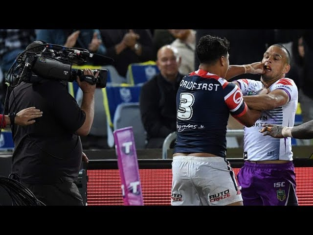 Will Chambers and Latrell Mitchell Grand Final BEEF