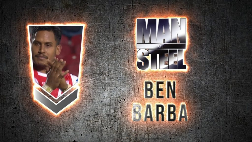 2018 Steve Prescott MBE Man of Steel winner – Ben Barba