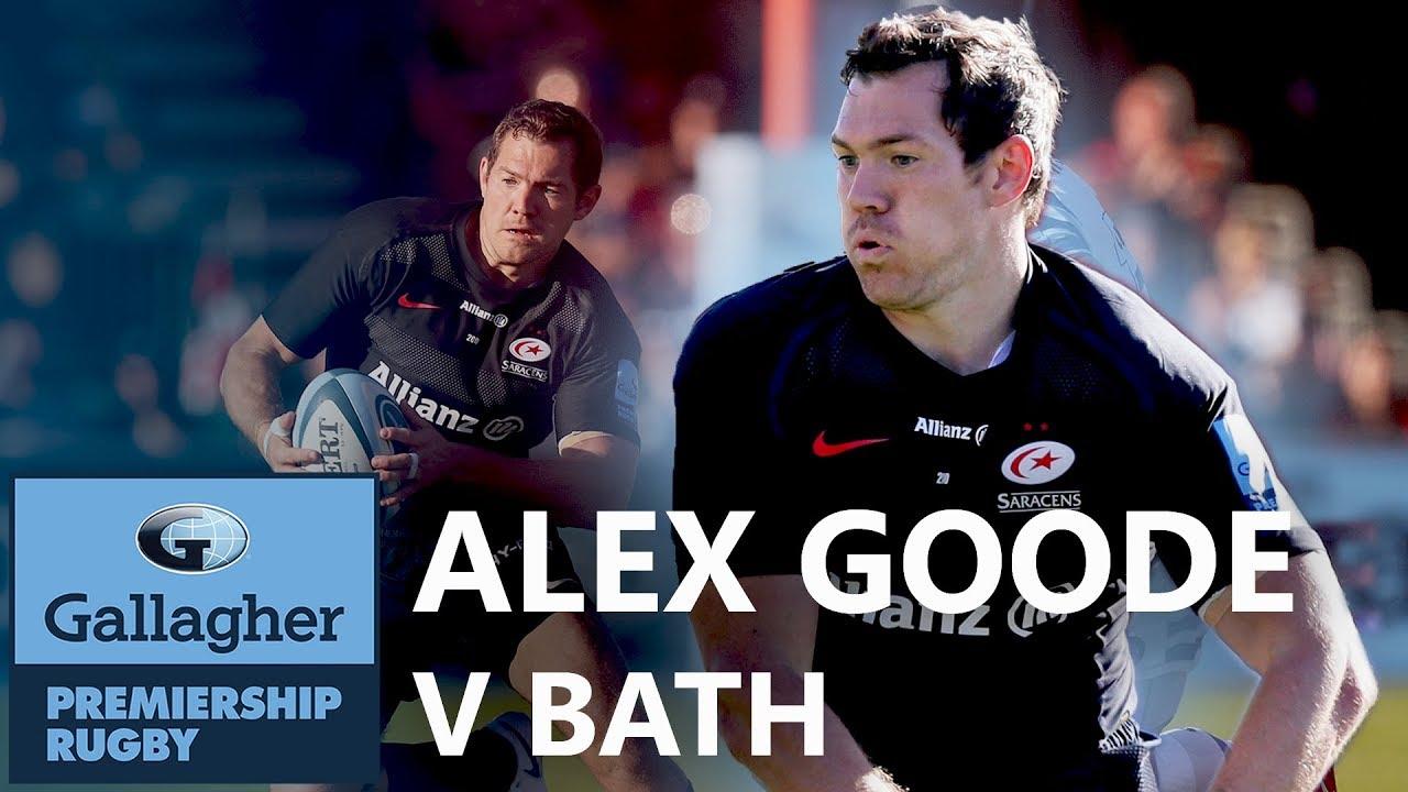 Alex Goode v Bath | The Breakdown | Gallagher Premiership