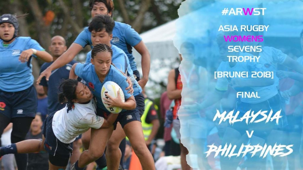 Asia Rugby Women Sevens Trophy 2018 Malaysia v Philippines
