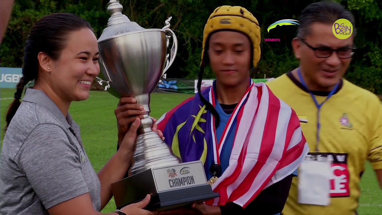 Asia Rugby Women Sevens Trophy 2018 Moments - Malaysia