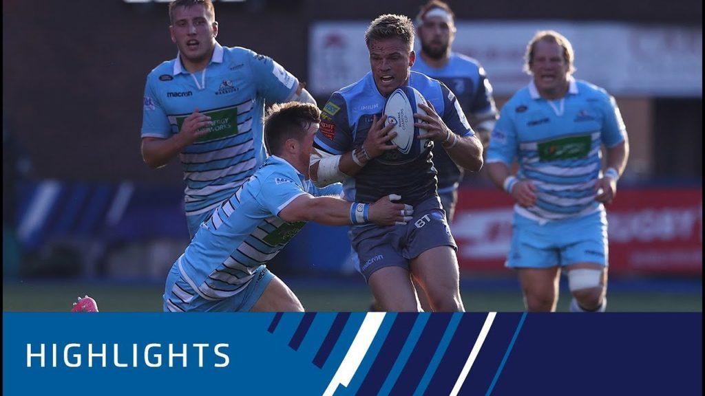 Cardiff Blues v Glasgow Warriors (P3) – Highlights 21.10.2018