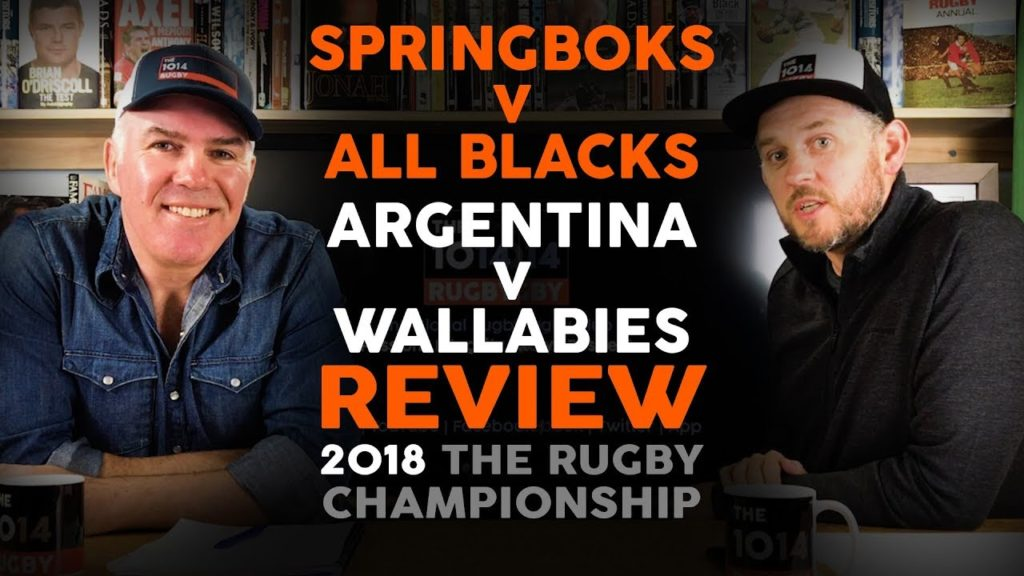 Springboks v All Blacks | Argentina v Wallabies | Review | The Rugby Championship | The 1014 Rugby