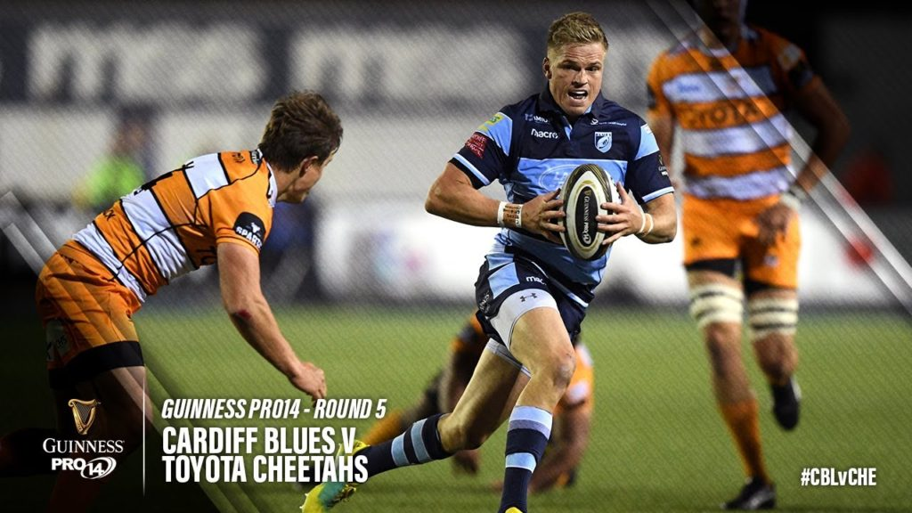 Guinness PRO14 Highlights: Cardiff Blues v Toyota Cheetahs