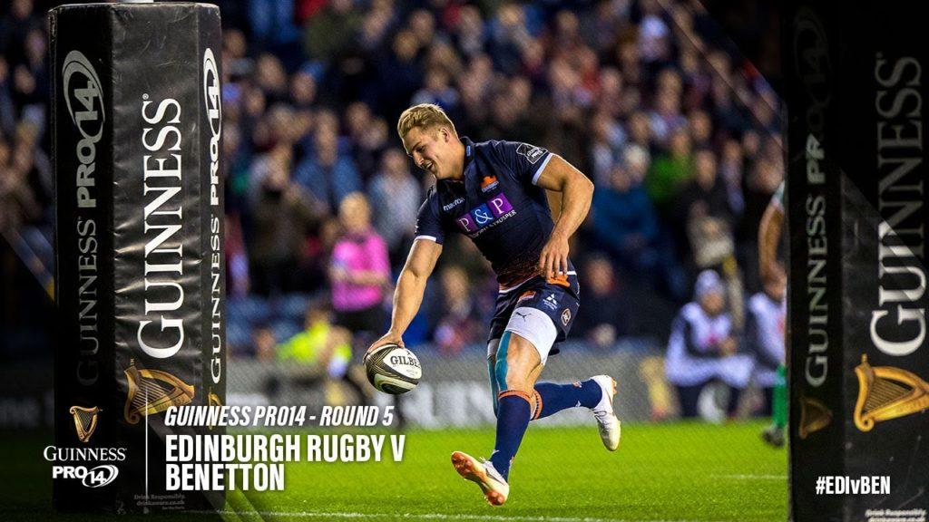 Guinness PRO14 Round 5 Highlights – Edinburgh Rugby v Benetton