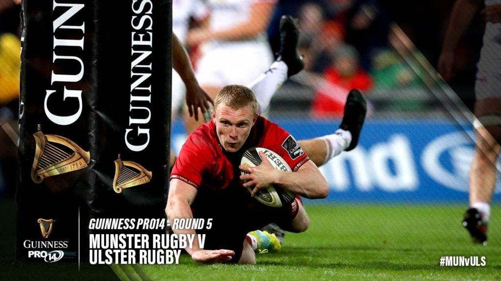 Guinness PRO14 Round 5 Highlights: Munster v Ulster