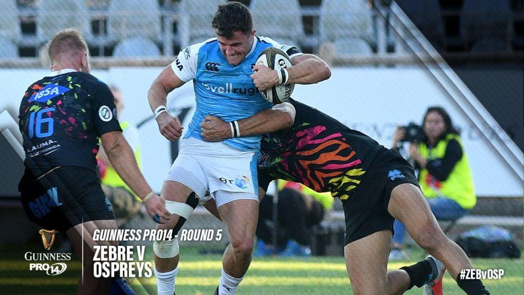 Guinness PRO14 Round 5 Highlights: Zebre vs Ospreys