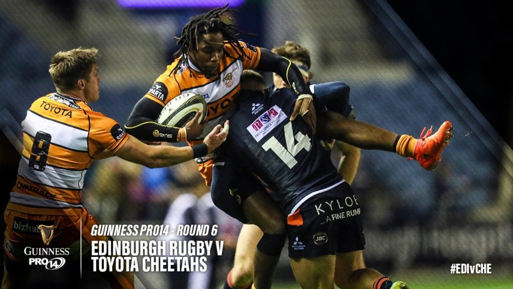 Guinness PRO14 Round 6 Highlights: Edinburgh Rugby v Toyota Cheetahs
