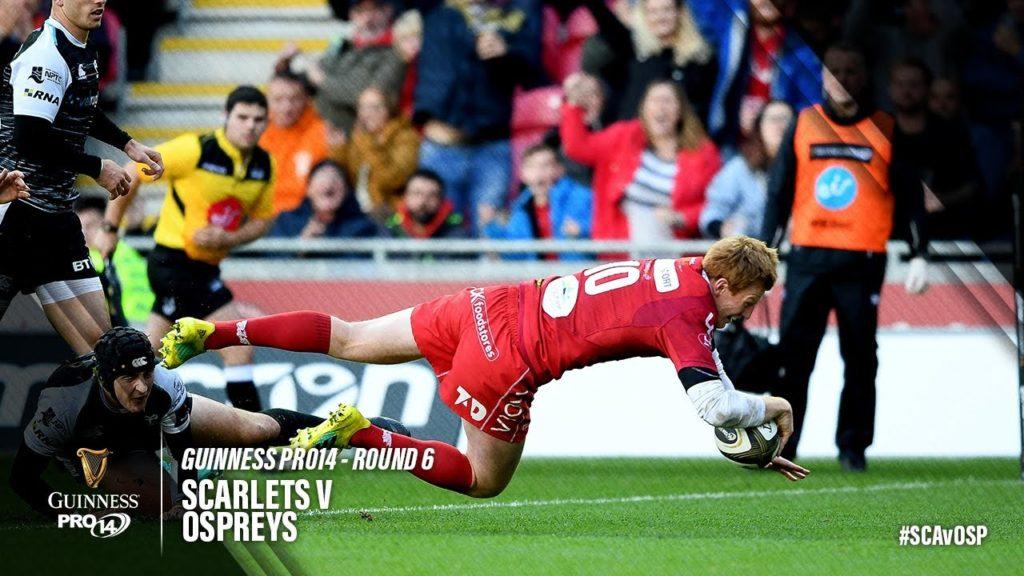 Guinness PRO14 Round 6 Highlights: Scarlets v Ospreys