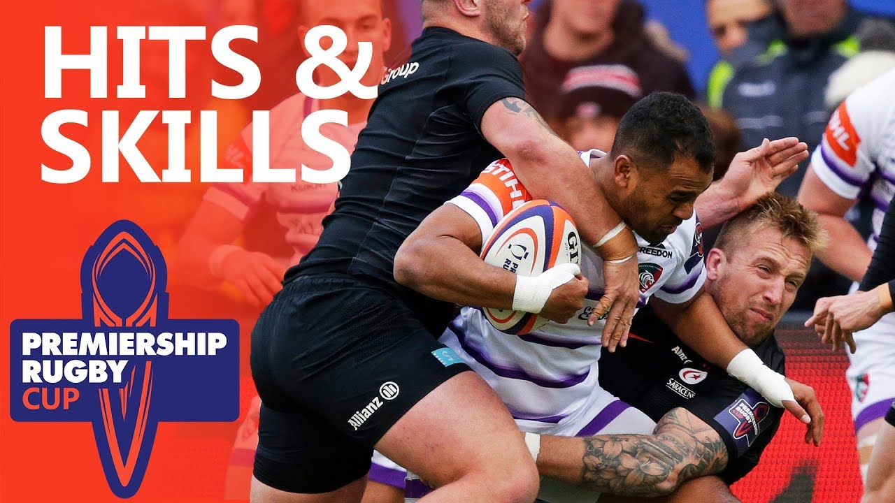 Hits & Skills - Round 1 | Premiership Rugby Cup 2018/19
