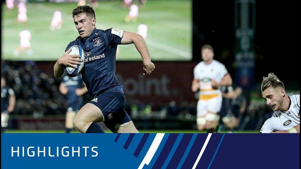 Leinster Rugby v Wasps (P1) – Highlights – 12.10.2018