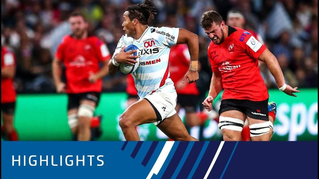 Racing 92 v Ulster Rugby (P4) – Highlights 20.10.2018