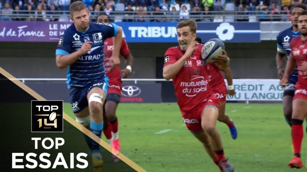 TOP Essais de la J07 – TOP 14 – Saison 2018/2019