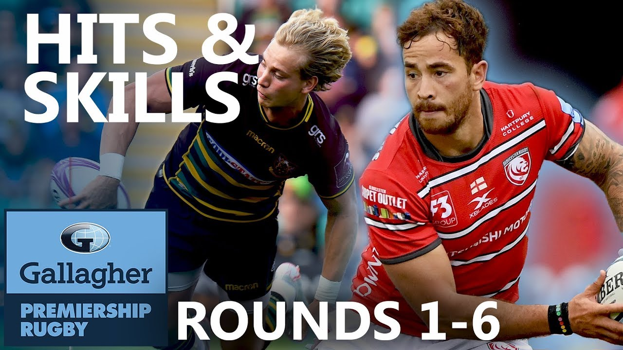 Top Hits & Skills So Far | Rounds 1-6 | Gallagher Premiership