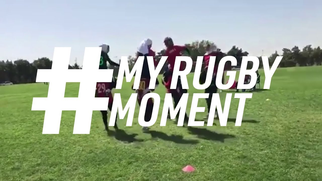 Datis Rugby Girls paving the way in Iran #MyRugbyMoment