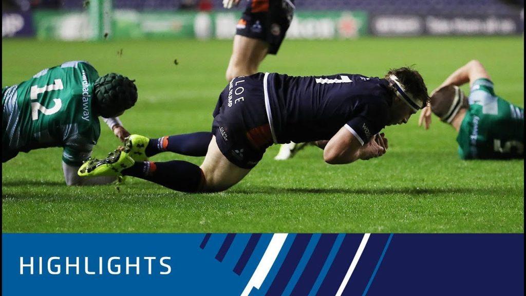 Edinburgh Rugby v Newcastle Falcons (P5) – Highlights 07.12.2018