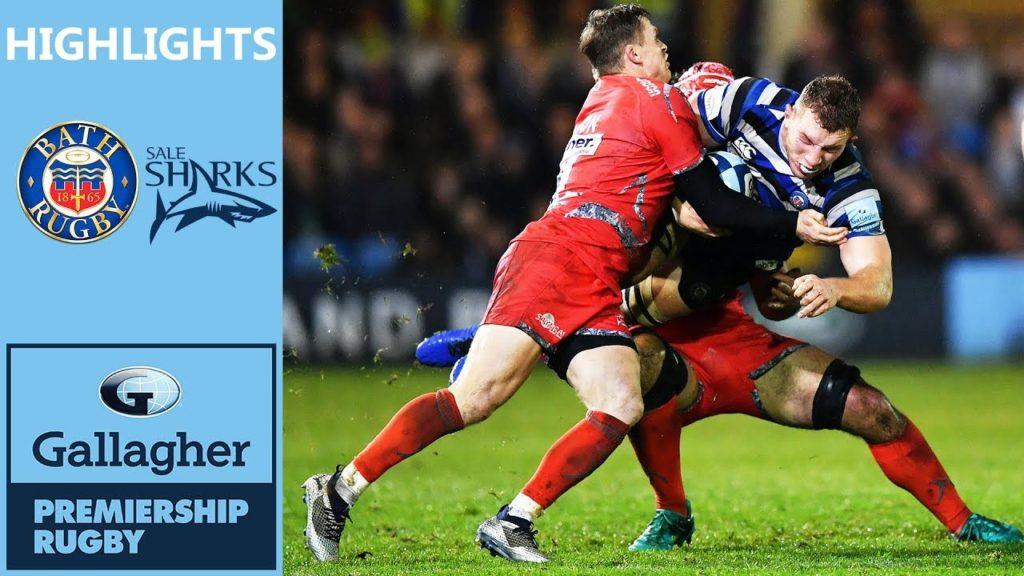 Sale Keep It Close in Tense Game | Bath v Sale | Gallagher Premiership Highlights