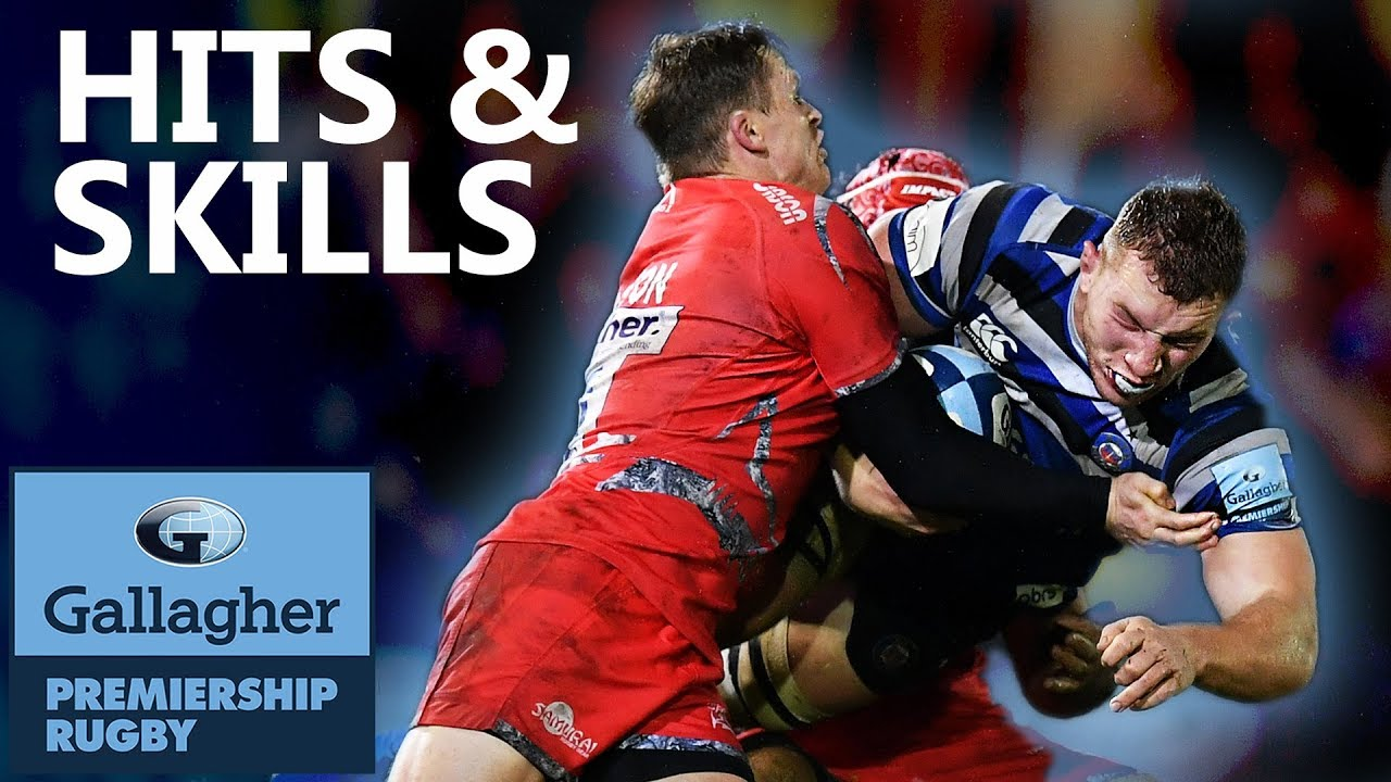 Hits & Skills - Round 9   Gallagher Premiership 2018/19